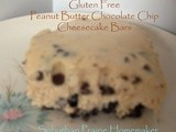 Gluten Free Peanut Butter Chocolate Chip Cheesecake Bars Recipe