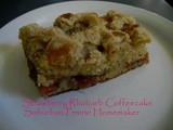 Gluten Free Strawberry Rhubarb Coffeecake Recipe