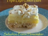 Gluten Free Triple Layer Lemon Bars Recipe