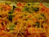 Gluten Free Veggie Pizza Appetizer Recipe