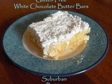Gluten Free White Chocolate Butter Bars Recipe