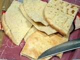 Pita (Middle Eastern Bible or Pocket Bread)