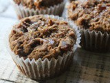 Gluten Free Date and Apple Walnut Muffins