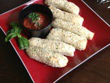 Parmesan and Herb Bread Sticks