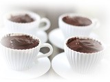 Chocolate Pots ~ The Easiest, Lushest Chocolate Dessert Ever