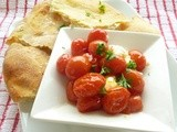Mashed Potato Flatbread and a Great Thing to do with Cheese & Tomatoes