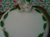 My finished Christmas Cake