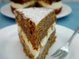 Root Vegetable Cardamom Cake