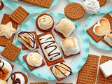 Homemade Honey Graham Crackers and Marshmallows Make Great s'mores