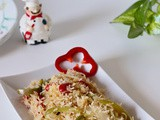 Cabbage Capsicum Rice