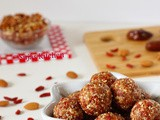 Goji Berry-Almond-Date Power Balls (No Cook Recipe)