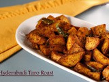 Hyderabadi Colocasia/Arbi Roast