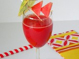 Spiced Watermelon Juice