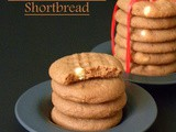 White Chocolate Shortbread (Eggless)