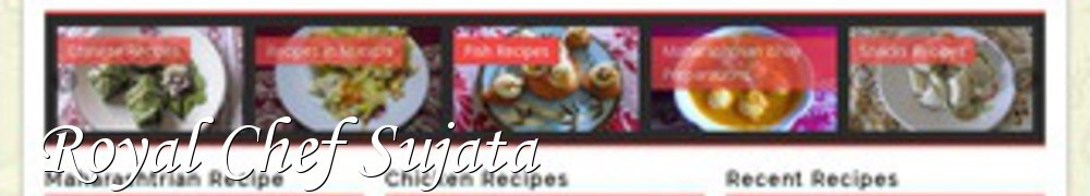 Very Good Recipes - Royal Chef Sujata