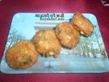 Carrot Pakora Recipe in Marathi