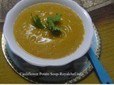 Cauliflower Potato Soup Recipe in Marathi