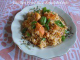 Chicken Egg Fried Rice Recipe in Marathi