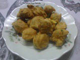 Crisp and Tasty Cheese Egg Pakoras