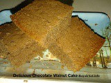Delicious Chocolate Walnut Cake Recipe in Marathi