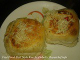 Fast Food Stall Style Kacchi Dabeli Recipe in Marathi