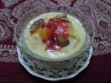 Fruit Custard Pudding Recipe in Marathi