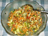 Healthy Pancharangi Salad for Weight Loss Recipe in Marathi