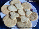 Homemade Eggless Coconut Biscuits Recipe in Marathi