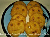 How to Make Smiley Potato Mukins at Home In Marathi