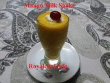 Kesar Mango Milk Shake Recipe in Marathi