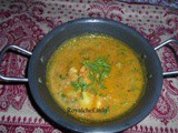 Konkani Prawn Gravy Recipe in Marathi