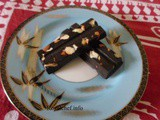 Making Fruit and Nut Chocolate Marathi Recipe