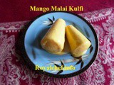 Mango Malai Kulfi Recipe in Marathi