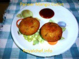 Mango Paneer Cutlet Recipe in Marathi