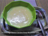Nourishing Cheese Chicken Soup Recipe in Marathi