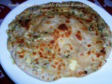 Nutritious Mixed Vegetable Paratha Recipe in Marathi