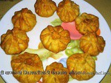 Panchkhadya and Fried Modak for Khirapat Recipe in Marathi