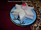 Paneer Coconut Burfi Recipe in Marathi