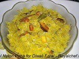 Patal Nylon Poha for Diwali Faral Recipe in Marathi