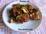 Recipe for Crisp and Tasty Paneer 65