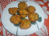 Recipe for Crispy and Tasty Carrot Pakora