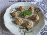 Recipe for Crispy Rolled Chicken Mutton Keema Balls