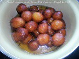 Recipe for Gulab Jamun made from Milk Powder