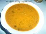 Recipe for Plain Healthy and Nutritious Chicken Soup