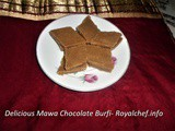 Recipe for Sweet and Tasty Mawa Chocolate Barfi