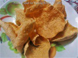 Recipe for Tasty Potato Papad for Fasting