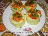 Recipe for Tasty Stuffed Cucumber Cups Salad