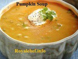 Red Pumpkin Soup Recipe in Marathi