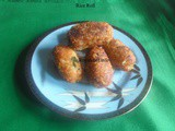 Rice Roll Pakore Recipe in Marathi