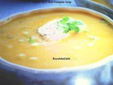 Simple Indian Style Red Pumpkin Soup